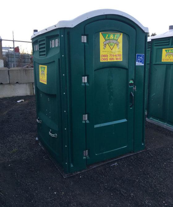 Handicap Unit Portable Toilet