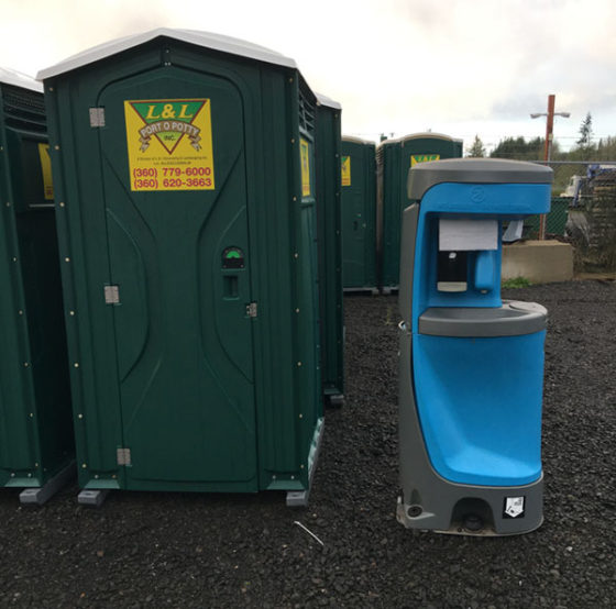 Port O Potties and Wash Station - Porta Potty Rental